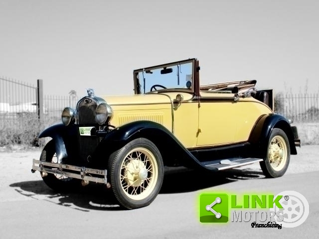 FORD MODEL A ROADSTER (1931) TARGA ORO